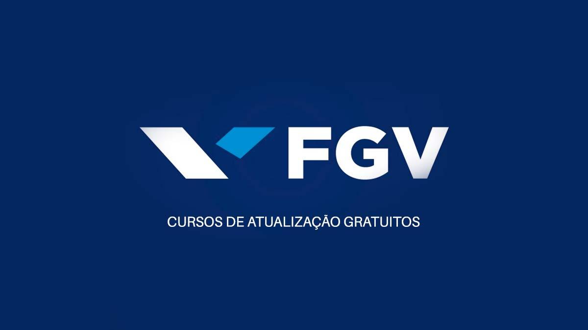 fgv cursos de atualização gratuitos